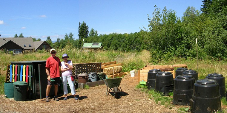 Creekside Commons composting